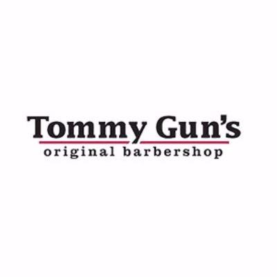 Tommy Gun's Original Barbershop logo